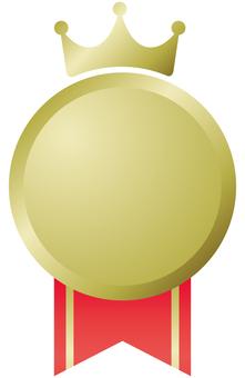 Illustration of medal, medal