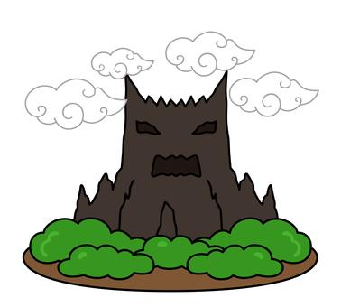 옛날 이야기의 귀신이 섬
