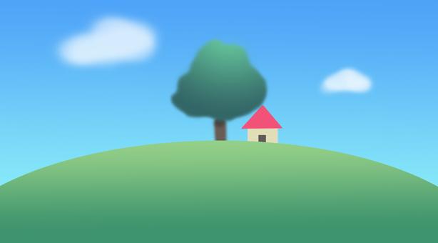 언덕 위의 작은 집