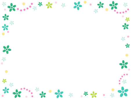 Cute flower frame 3