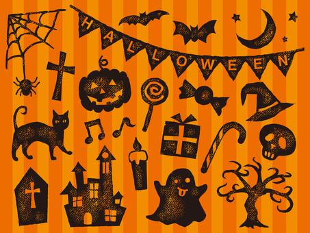 Halloween stamp 001