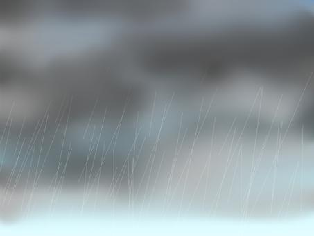 Rain sky