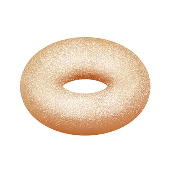 Sugar donut (cocoa)