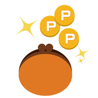 Purse and coin (points)