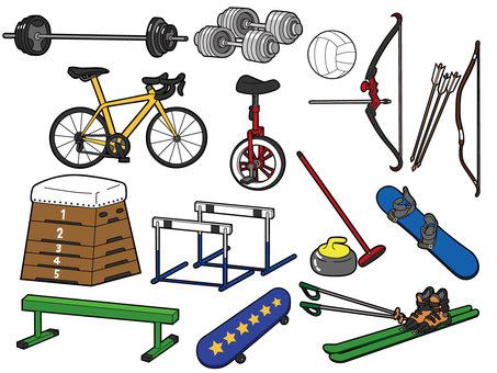 Sports equipment set 2