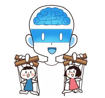 人形を操る人工知能(AI・人型ロボット)