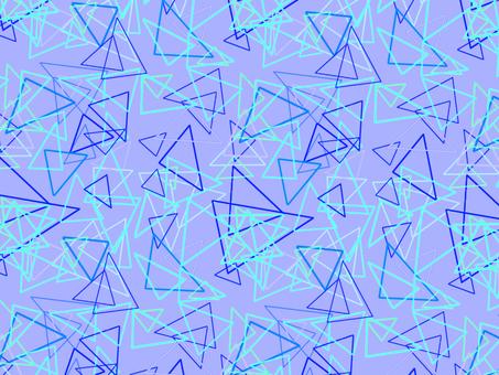 Triangle pattern_Blue
