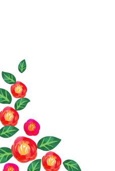 Chất liệu hoa văn Nhật Bản 041 nền Camellia