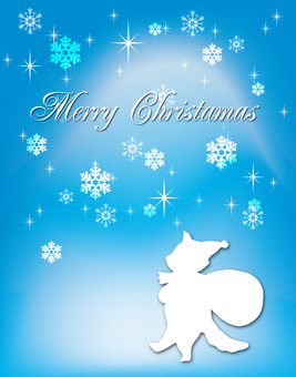 Silhouette Christmas Card 6