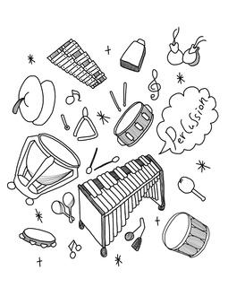 Percussion wallpaper
