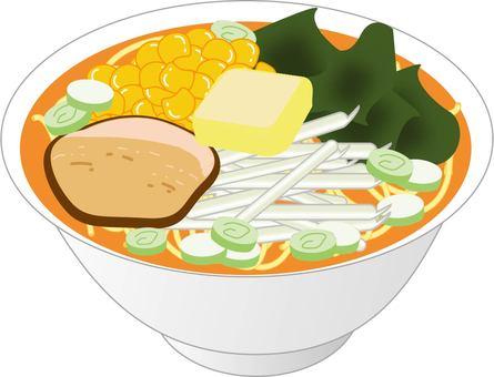 Miso butter noodles
