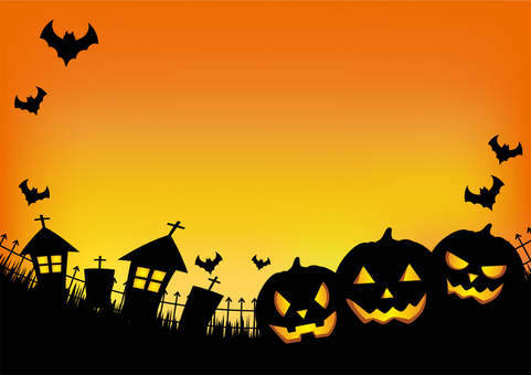 Halloween background side 02