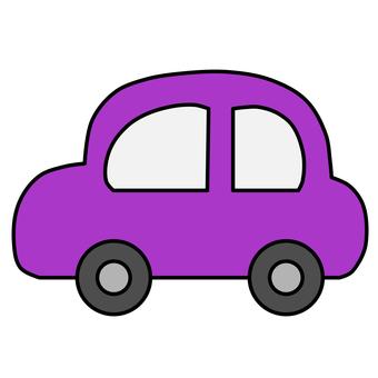 Car purple