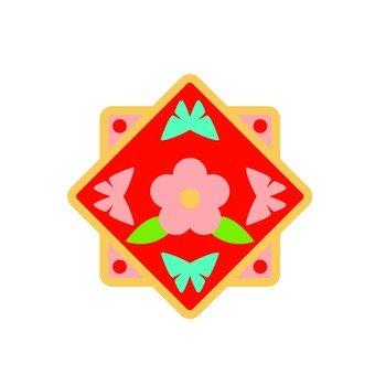 Korean style pattern 2
