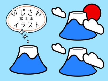 Mt. Fuji illustration 01