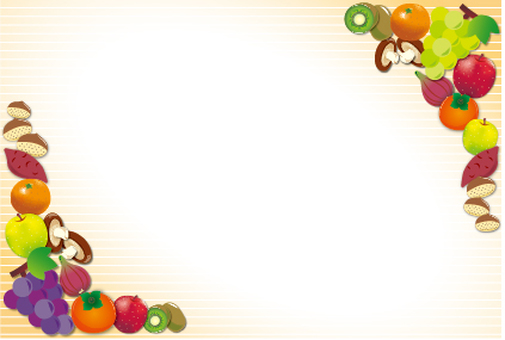 Autumn taste card