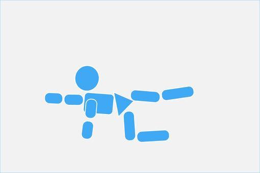Trunk training pictogram 1