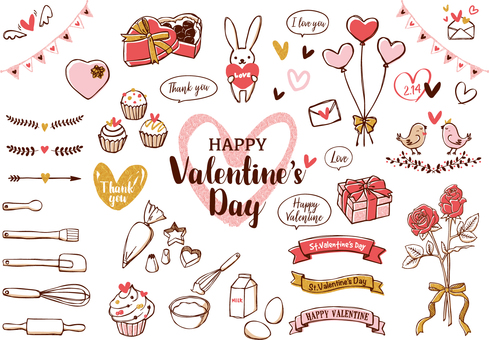 Valentine's Day illustration 01