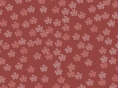 Chiyogami Sakura 2 (Red)