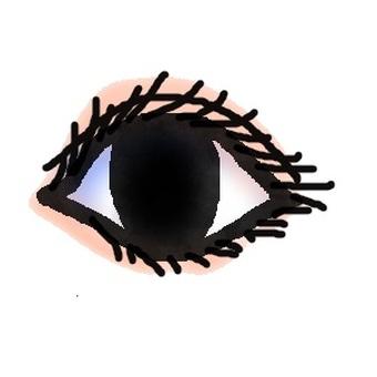 Eyes (with eye shadow)