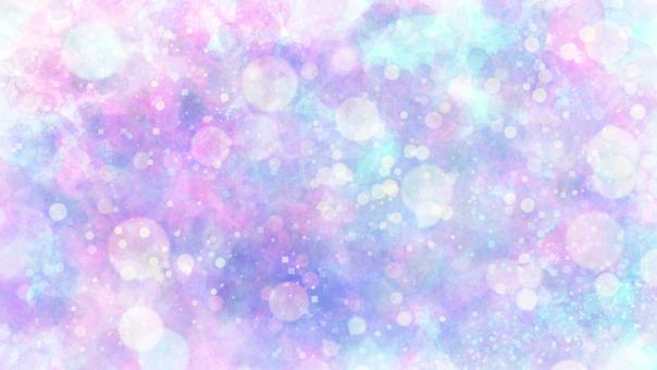 Background Gradation Polka Dots Wallpaper