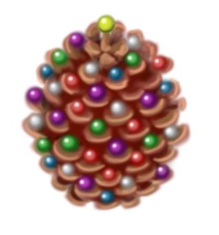 Pine cone 【beads】