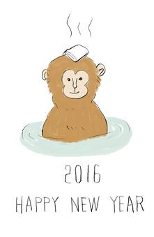 猴子的溫泉