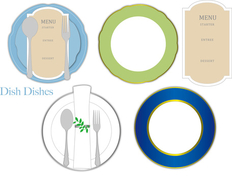 Dish dish plate
