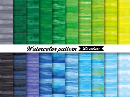 Brushed watercolor background pattern swatch 2