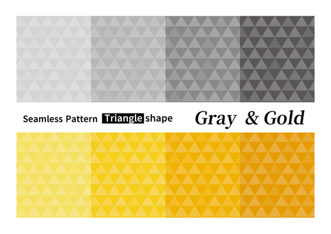Seamless pattern triangles background tile