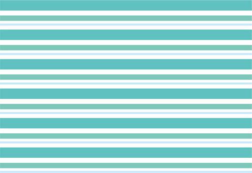 Emerald green stripes