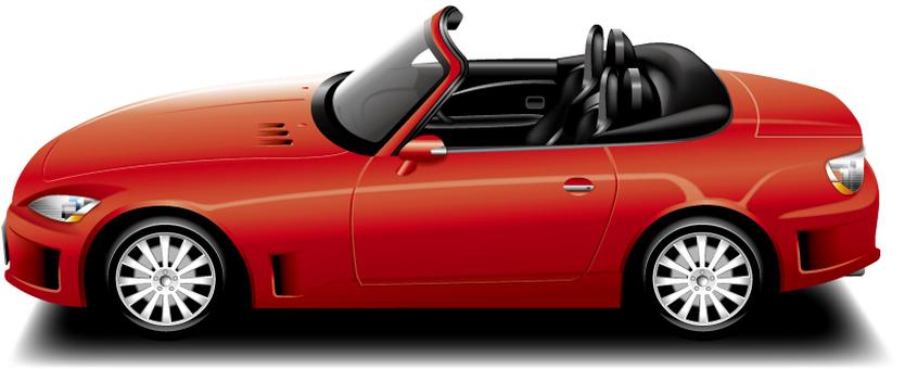 Automobile (open car)