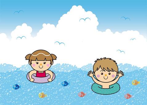 Sea 04_09 (sea bathing)
