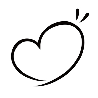 Heart line · black