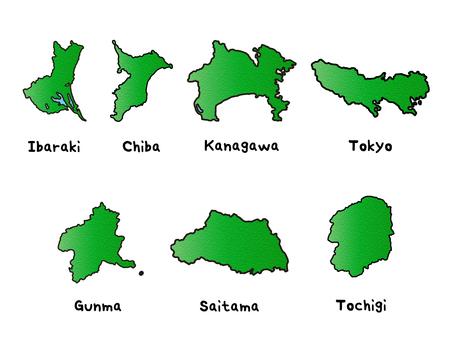 関東地方セット