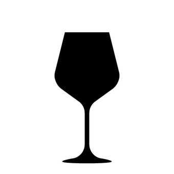 Wine glass silhouette