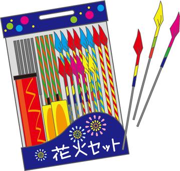 Fireworks set