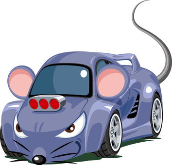 Car Rat Rat Character