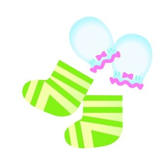 Baby gloves & socks 01