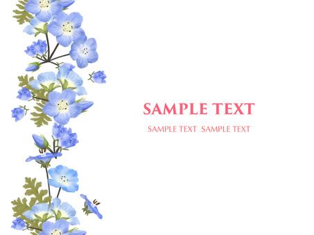 5 월의 꽃 네모 피라 9 프레임