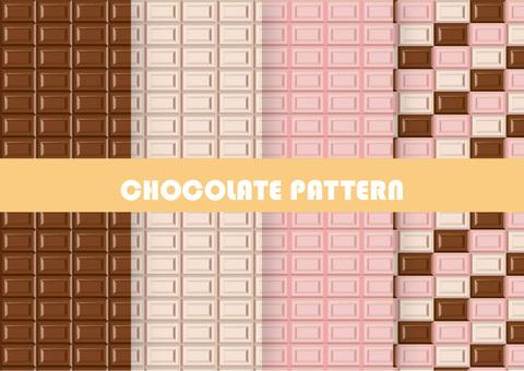 초콜릿 패턴