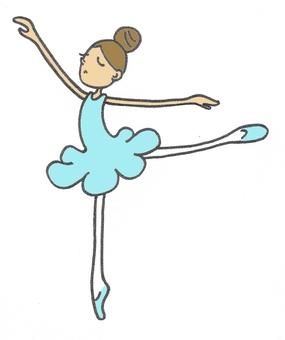 Light blue ballet 3