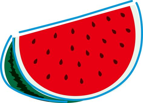 Summer image watermelon
