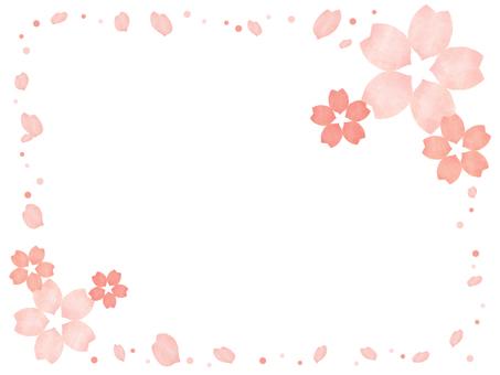 Cherry frame 6