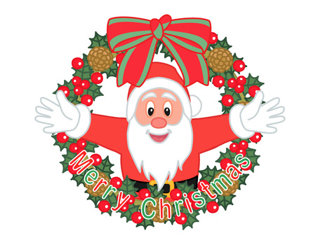 Christmas lease and Santa Claus