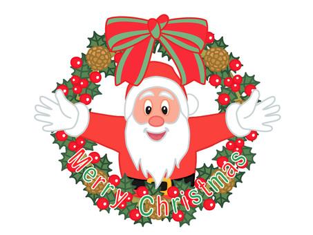 크리스마스리스와 산타 클로스