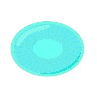 Drop, light blue