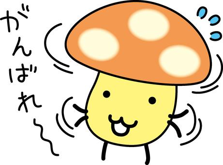Mushroom to support