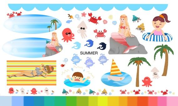 Summer ☆ Material 2