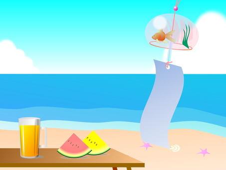 Summer image (beach)
